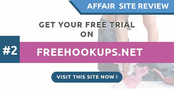 FreeHookups reviews for having an affair